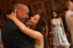 Ryan & Mike dance during their May 2018 wedding reception at Quidnessett Country Club in North Kingstown, Rhode Island.