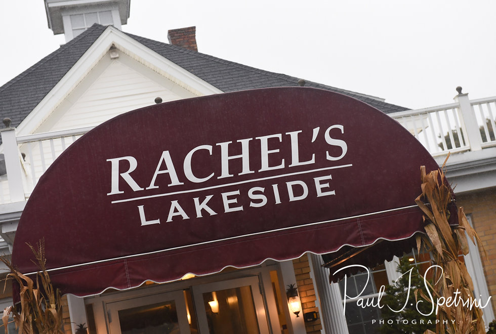A look at the front entrance of Rachel's Lakeside in Dartmouth, Massachusetts.