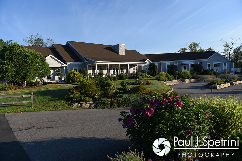 A look at Crystal Lake Golf Club in Burrillville, Rhode Island before Heather and John's July 2016 wedding.