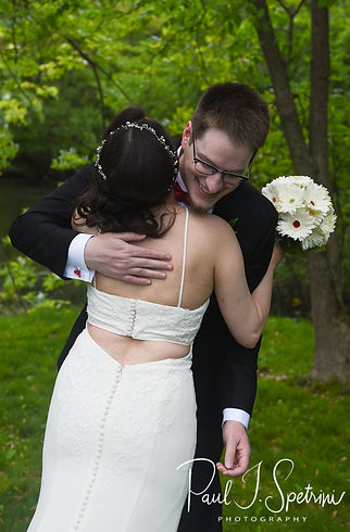Rhodes on the Pawtuxet Wedding Photography, Bride and Groom First Look Photos