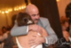 Amanda dances with her father during her November 2018 wedding reception at Five Bridge Inn in Rehoboth, Massachusetts.