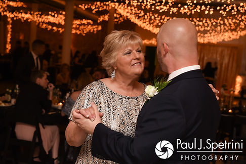 Matthew dances with his mother during his May 2017 wedding reception at the Hope Artiste Village in Pawtucket, Rhode Island.
