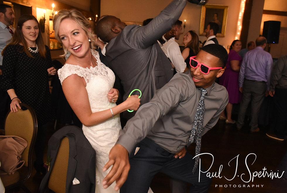 Nicole dances during her November 2018 wedding reception at the Publick House Historic Inn in Sturbridge, Massachusetts.