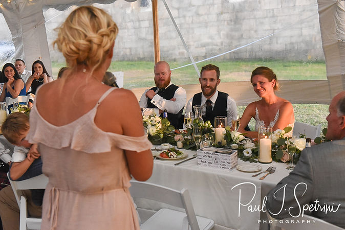 Fort Adams State Park Wedding Photography, Wedding Reception Photos