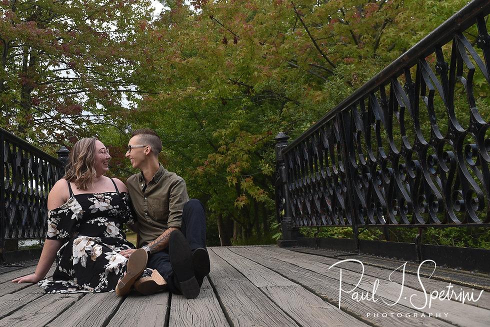 Roger Williams Park Engagement Photos