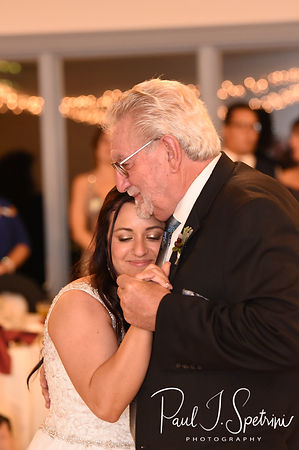 Lizzy and her grandfather dance during her September 2018 wedding reception at Crystal Lake Golf Club in Mapleville, Rhode Island.