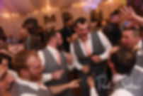 Justin and guests dance during his November 2018 wedding reception at Five Bridge Inn in Rehoboth, Massachusetts.