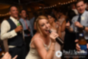 Kim dances during her August 2016 wedding at Whispering Pines Conference Center in West Greenwich, Rhode Island.