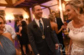 during his November 2018 wedding reception at the Publick House Historic Inn in Sturbridge, Massachusetts.