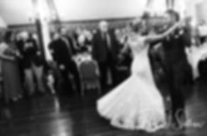 Nicole & Kurt dance during their November 2018 wedding reception at the Publick House Historic Inn in Sturbridge, Massachusetts.