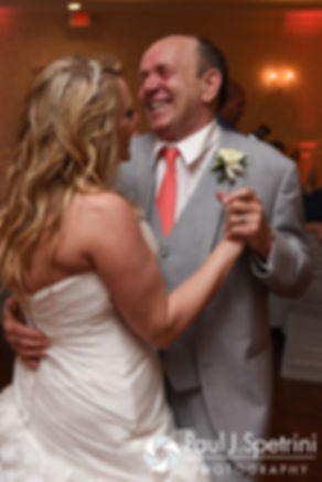 Michelle and her father dance during her May 2016 wedding at Hillside Country Club in Rehoboth, Massachusetts.