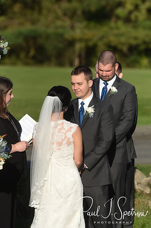 Cranston Country Club Wedding Photography, Wedding Ceremony Photos