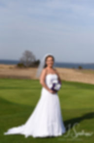 Katies pose for a formal photo prior to her April 2018 wedding reception at Quidnessett Country Club in North Kingstown, Rhode Island.