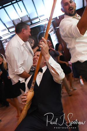 Brian dances during his September 2018 wedding reception at Squantum Association in Riverside, Rhode Island.
