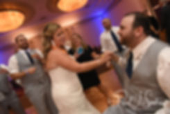 Sarah and Anthony dance during their October 2018 wedding reception at The Omni Hotel in Providence, Rhode Island.