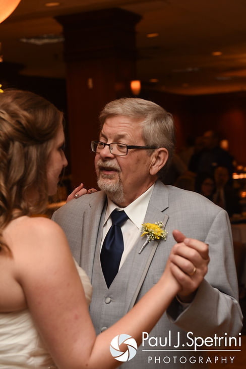 Kristin dances with her father during her October 2016 wedding reception at the Ashworth by the Sea Hotel in Hampton, New Hampshire.