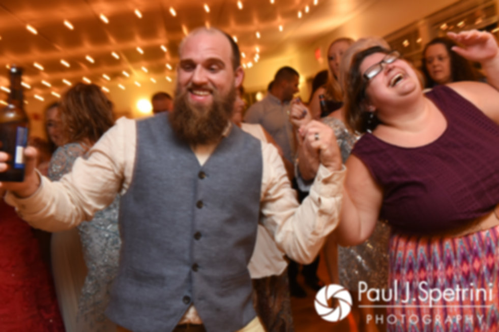 Gary dances during his September 2017 wedding reception at North Beach Club House in Narragansett, Rhode Island.