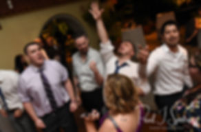 Guests dance during Ali & Gary's May 2018 wedding reception at the Roger Williams Park Botanical Center in Providence, Rhode Island.