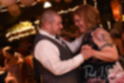 Adam and his mother dance during his September 2018 wedding reception at Stepping Stone Ranch in West Greenwich, Rhode Island.