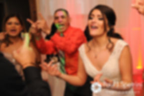 Maria dances at her March 2016 wedding reception at Falores Restaurant in Pawtucket, Rhode Island.