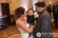 Dallas and Nicky dance with their son during their September 2017 wedding reception at the Crowne Plaza Hotel in Warwick, Rhode Island.