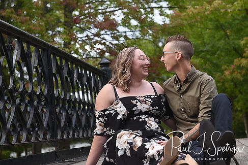 Roger Williams Park Engagement Photos
