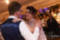 Mackenzie and his mother dance during his December 2018 wedding reception at Independence Harbor in Assonet, Massachusetts.