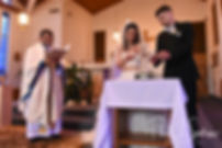 St. Robert Bellarmine Parish Wedding Photography, Wedding Ceremony Photos