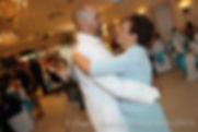 Joe Andrade dances with his mom at his wedding.