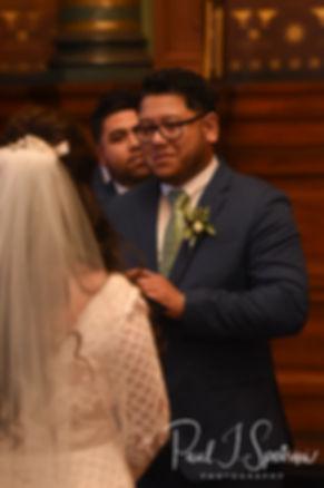 Providence City Hall Wedding Photography, Wedding Ceremony Photos