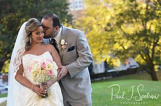 Omni Hotel Wedding Photography from Sarah & Anthony's 2018 wedding.