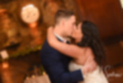 Michael & Miranda have their first dance during their August 2018 wedding reception at the Squantum Association in Riverside, Rhode Island.