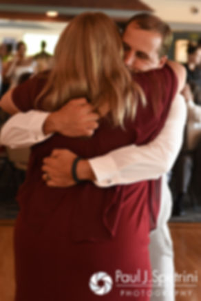 John dances with his mother during his July 2016 wedding reception at Crystal Lake Golf Club in Burrillville, Rhode Island.