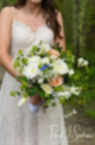 Ryan poses for a photo prior to her May 2018 wedding ceremony at Bittersweet Farm in Westport, Massachusetts.