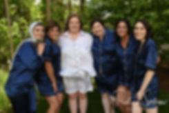 Rhode Island wedding bridal prep photos
