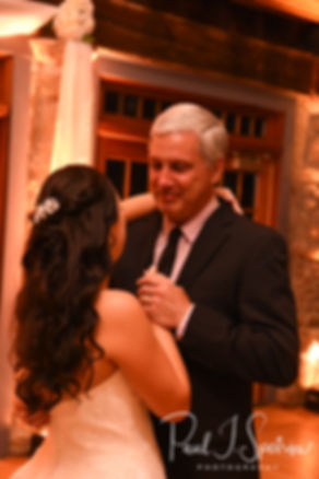 Nicole and her uncle dance during her September 2018 wedding reception at The Towers in Narragansett, Rhode Island.