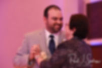 Anthony and his mother dance during his October 2018 wedding reception at The Omni Hotel in Providence, Rhode Island.