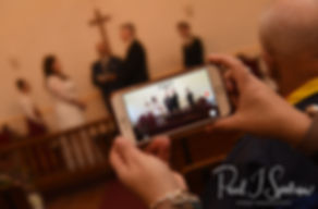 Acoaxet Chapel wedding ceremony photos
