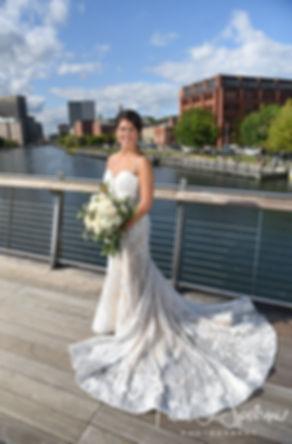Providence River Pedestrian Bridge Bride