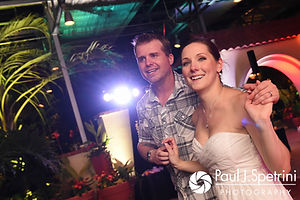 A teaser image for Gina & David's wedding blog.