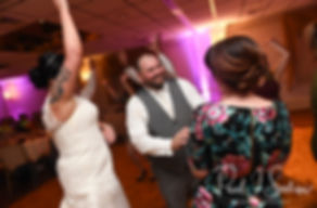 Jon dances during his October 2018 wedding reception at Twelve Acres in Smithfield, Rhode Island.