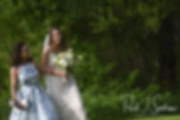 Ryan walks down the aisle during her May 2018 wedding ceremony at Bittersweet Farm in Westport, Massachusetts.