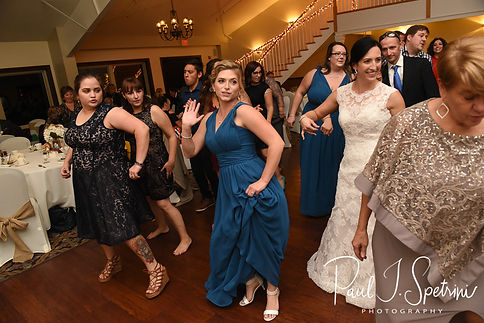 Cranston Country Club Wedding Photography, Wedding Reception Photos