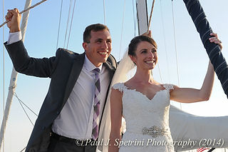 Newport Yachting Center Wedding Photography from Charley & Cristina's 2014 wedding.
