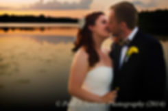 William and Meg share a kiss during their July 2014 wedding.