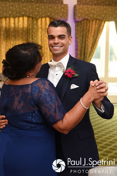 Alex dances with his mother during his August 2016 wedding reception at LeBaron Hills Country Club in Lakeville, Massachusetts.
