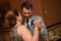 Sam dances with his mother during his April 2018 wedding reception at Quidnessett Country Club in North Kingstown, Rhode Island.