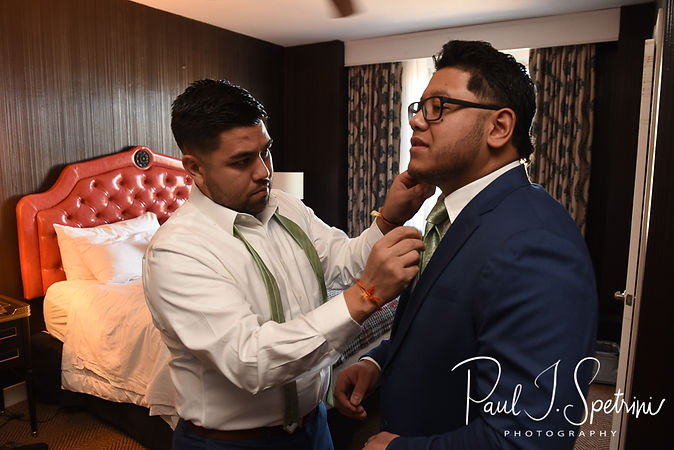 Graduate Providence Wedding Photography, Groom Prep Photos