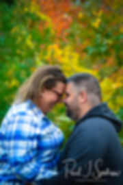 Lincoln Woods State Park engagement phot