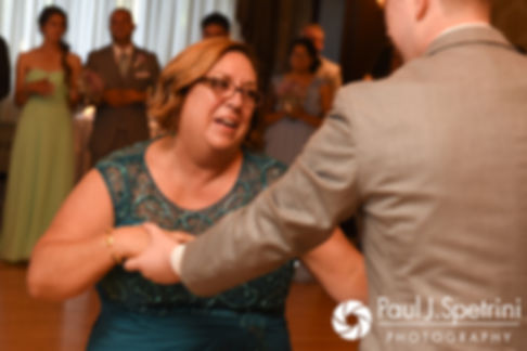 Neil dances with his mother during his July 2017 wedding reception at Quidnessett Country Club in North Kingstown, Rhode Island.